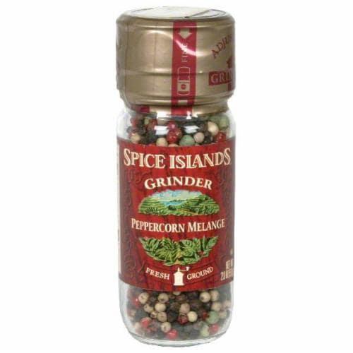Spice Island Peppercorn Melange Grinder Perspective: front