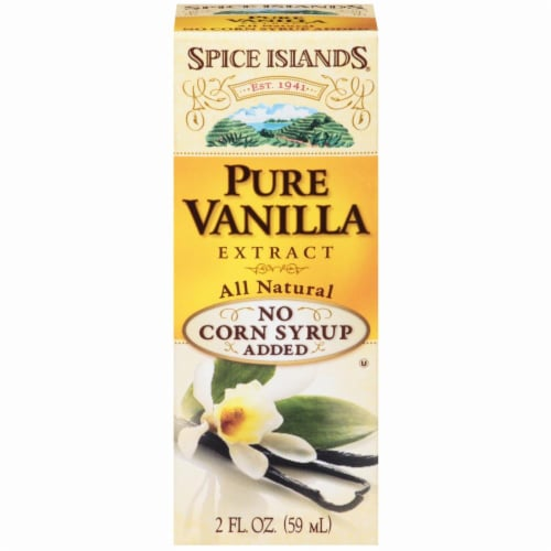 Spice Islands Pure Vanilla Extract Perspective: front