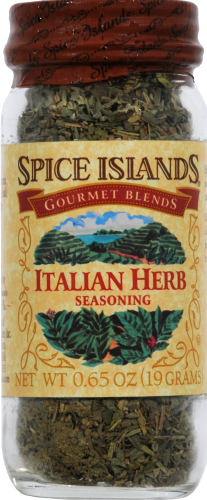 Spice Islands Italian Herb Seasoning Jar Perspective: front