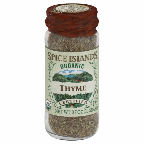 Spice Islands Organic Thyme Perspective: front