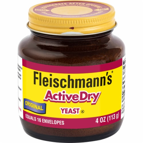 Fleischmann's Active Dry Yeast Perspective: front