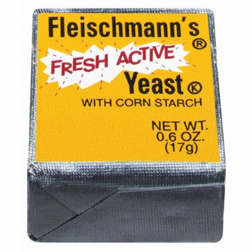 Fleischmann's Fresh Active Yeast with Corn Starch Perspective: front