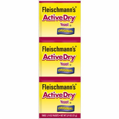 Fleischmann's Original ActiveDry Yeast Perspective: front