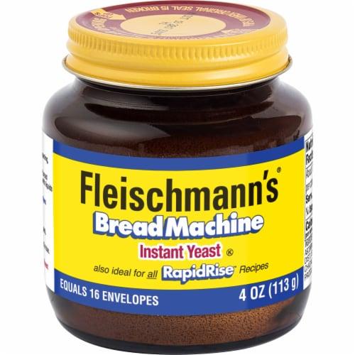 Fleischmann's Bread Machine Instant Yeast Perspective: front