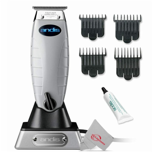 Andis 74000 Professional Cordless T-outliner Beard/hair Trimmer 110-220 Volts Perspective: front