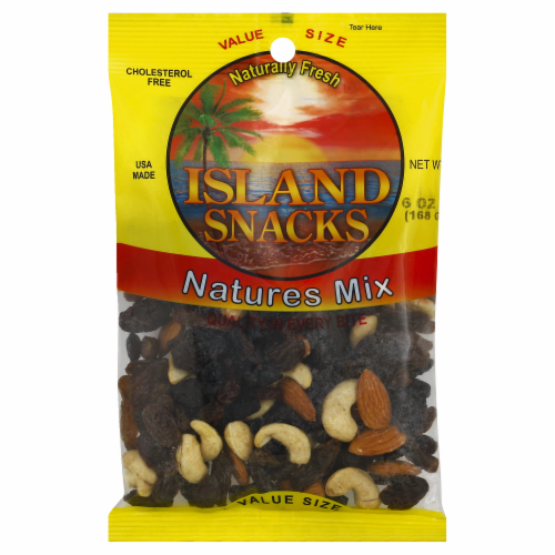 Island Snacks Natures Mix Value Size Perspective: front