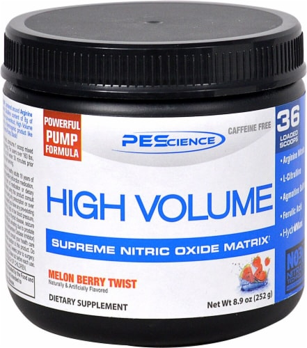 PEScience High Volume Perspective: front