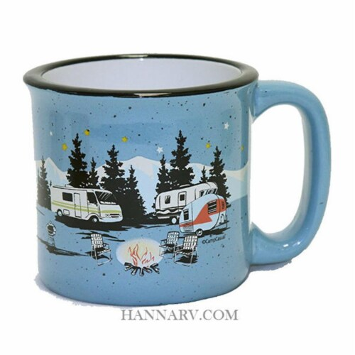 Camp Casual 15 oz. Starry Night Mug Perspective: front