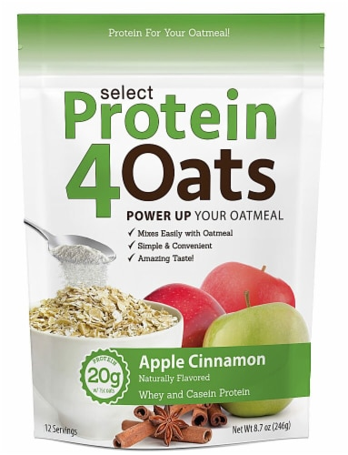 PEScience  Select Protein4Oats   Apple Cinnamon Perspective: front