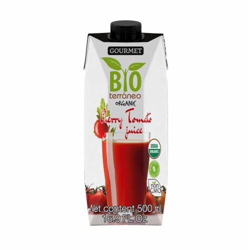 Organic Cherry Tomato Juice 500 ml (16.9 Fl. Oz) Perspective: front