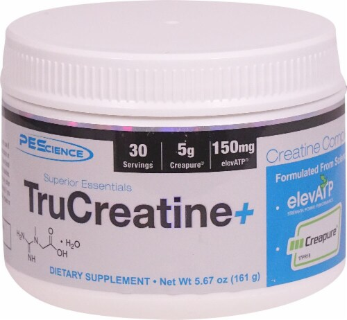 PEScience TruCreatine Perspective: front