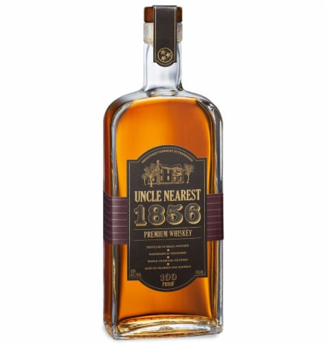 Uncle Nearest 1856 Premium Whiskey Perspective: front