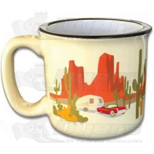 Camp Casual 15 oz The Mug Desert Dreamin Perspective: front