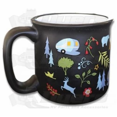 Camp Casual 15 oz Travel Mug into the Woods Perspective: front