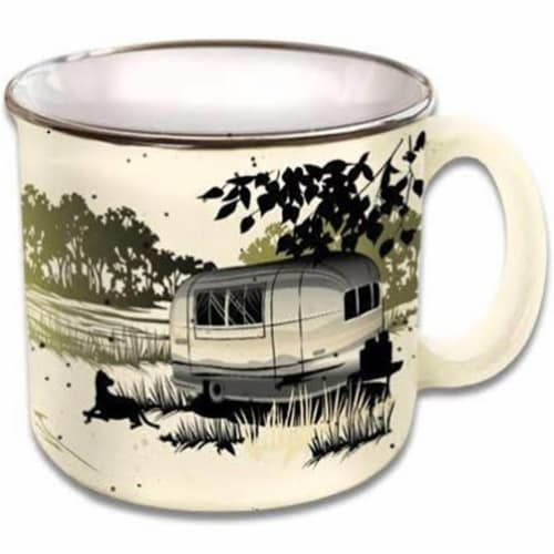 Camp Casual 15 oz Paws & Relax Logo Mug Perspective: front