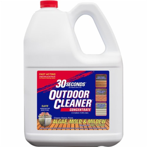 30 Seconds Outdoor Cleaner Perspective: front