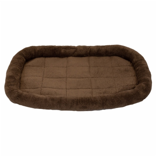 DMC Brown Mat Pet Bed Perspective: front