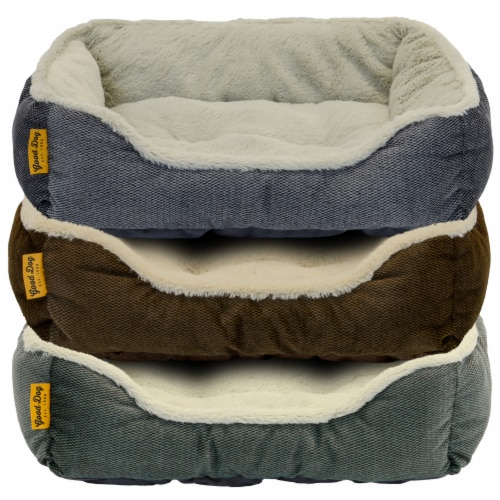DMC Good Dog Textured Pet Bed - Assorted Perspective: front