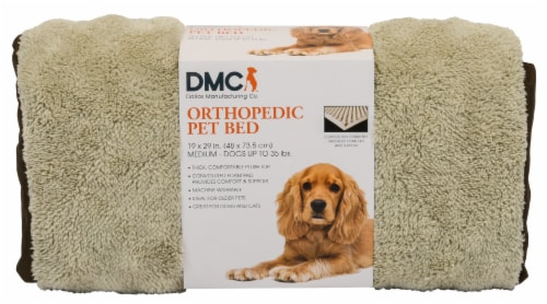Dallas Manufacturing Medium Orthopedic Pet Bed Perspective: front