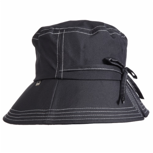 Totes Women's Split Back Rain Hat Perspective: front