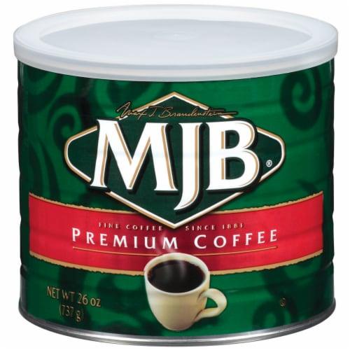MJB Premium Ground Coffee Perspective: front