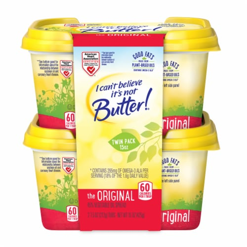 I Can't Believe It's Not Butter! Original Buttery Spread Perspective: front