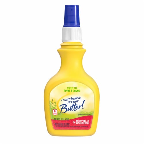 I Can't Believe It's Not Butter! The Original Vegetable Oil Spray Perspective: front