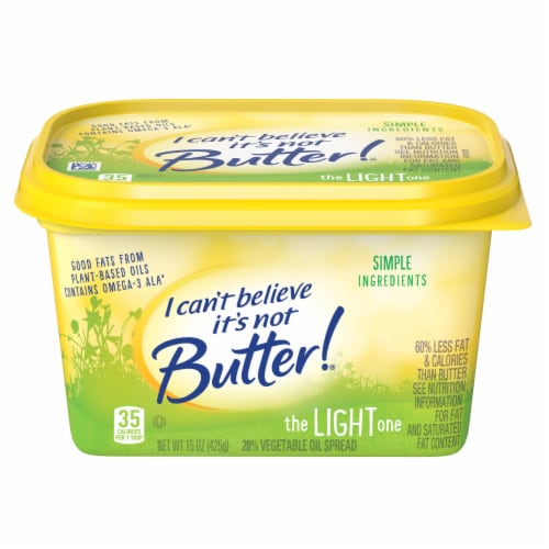 I Can't Believe It's Not Butter! Light Buttery Spread Perspective: front