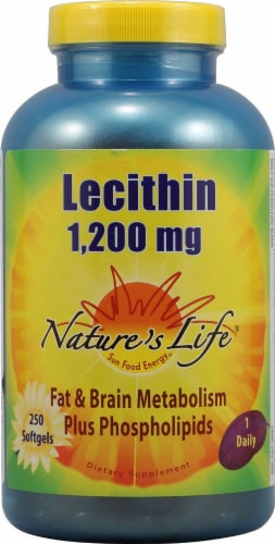 Nature's Life  Lecithin Perspective: front