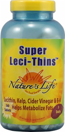 Nature's Life  Super Leci-Thins™ Perspective: front