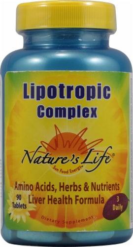 Nature's Life  Lipotropic Complex Perspective: front