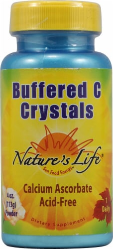 Nature's Life Buffered C Crystals 3600 mg Perspective: front