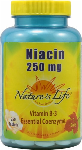 Nature's Life  Niacin Perspective: front