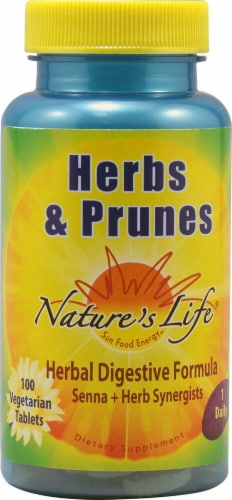 Nature's Life  Herbs and Prunes Perspective: front