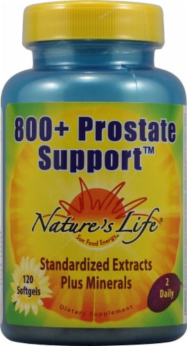 Nature's Life  800 Plus Prostate Support™ Perspective: front