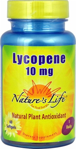 Nature's Life Lycopene 10 mg Softgels Perspective: front