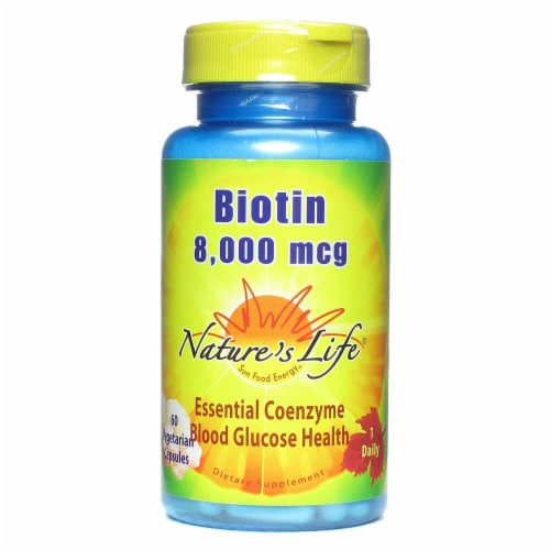 Nature's Life  Biotin Perspective: front