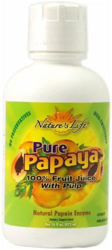 Nature's Life Pure Papaya Perspective: front