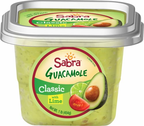 Sabra Classic Guacamole with Lime Perspective: front