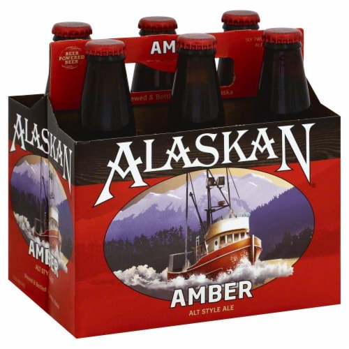 Alaskan Brewing Co. Amber Ale Perspective: front