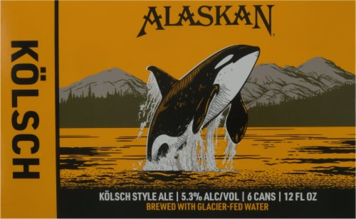 Alaskan Brewing Co. Kolsch Style Ale Perspective: front
