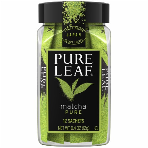 Pure Leaf Pure Matcha Sachets 12 Count Perspective: front