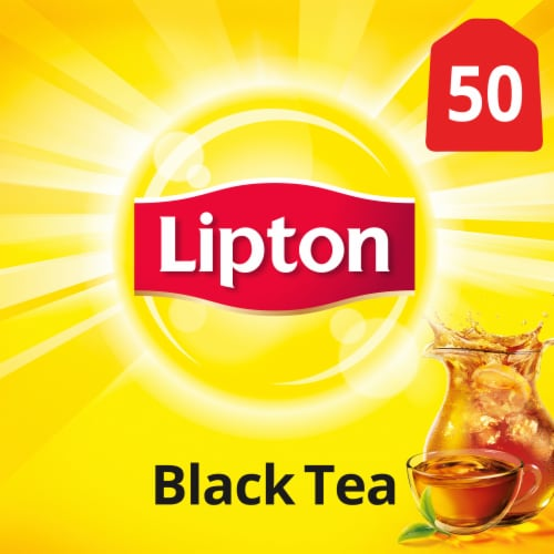 Lipton Black Tea Bags Perspective: front