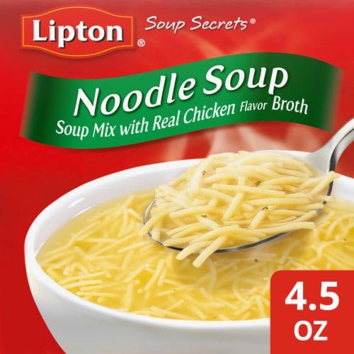 Lipton Soup Secrets Noodle Soup Mix Perspective: front