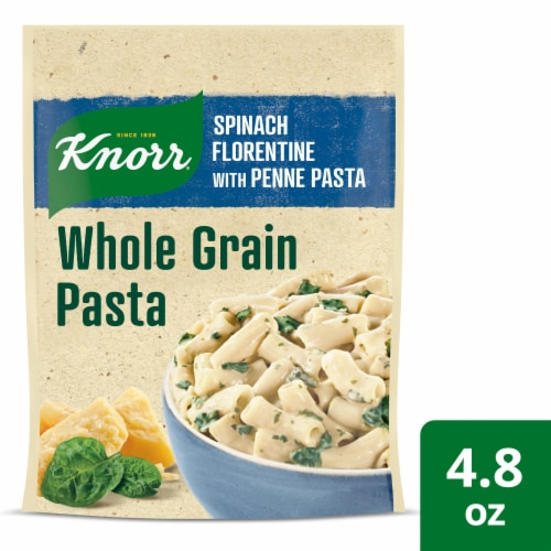 Knorr Selects Spinach Florentine with Penne Whole Grain Pasta Perspective: front