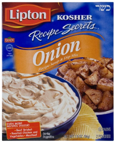 Lipton Recipe Secrets Onion Soup & Dip Mix Perspective: front