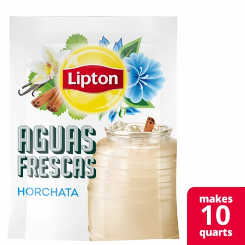 Lipton Aguas Frescas Horchata Sweetened Drink Mix Perspective: front