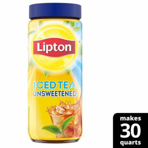 Lipton Unsweetened Iced Tea Mix Perspective: front