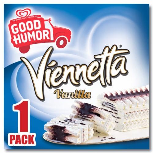 Good Humor Viennetta Vanilla Frozen Dairy Dessert Cake Perspective: front