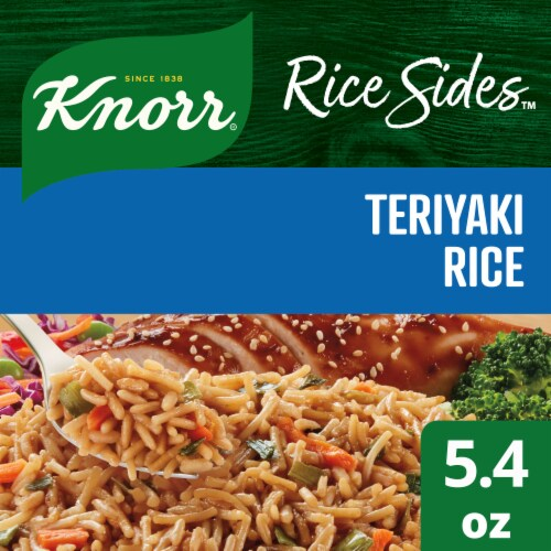 Knorr Asian Sides Teriyaki Rice and Pasta Blend Perspective: front